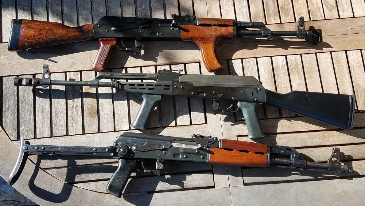 Trio of AKs